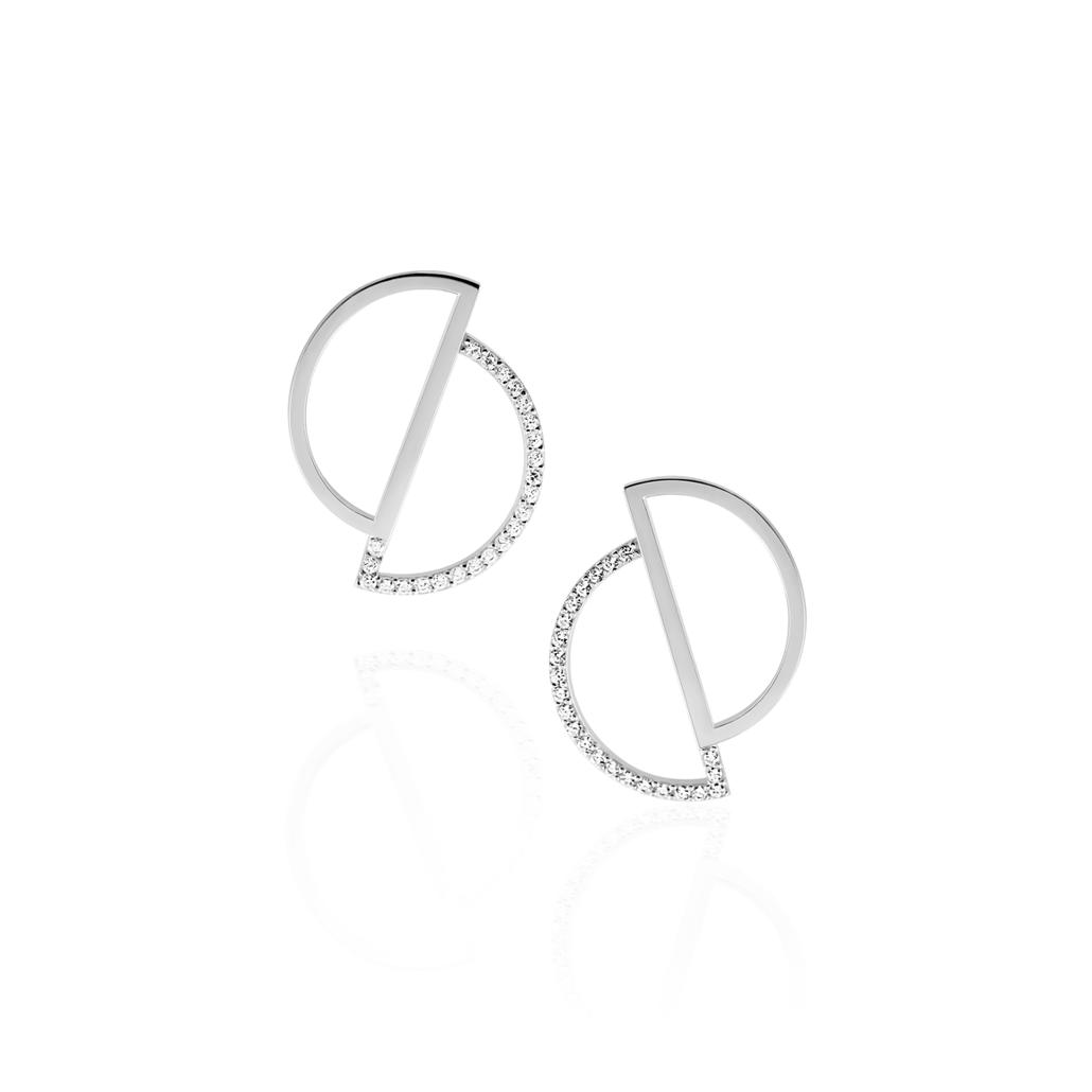 6ce31ba74 Circle Earrings - The ASYMMETRY Collection   OSYLIA London